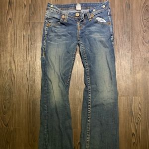 True religion size 32 flare jeans